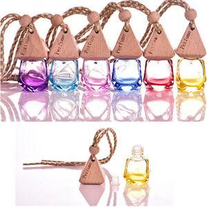 Home-Car-Hanging-Air-Freshener-Perfume-Fragrance-Diffuser-Empty-Glass-Bottle-Kit