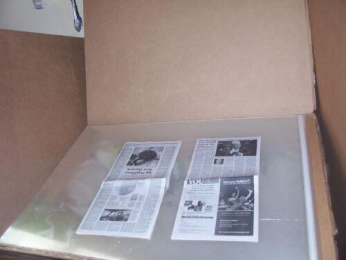 50 PCS  32 x 42  ACID FREE ART POSTER PRINT ARCHIVAL STORAGE CELLOPHANE ENVELOPE