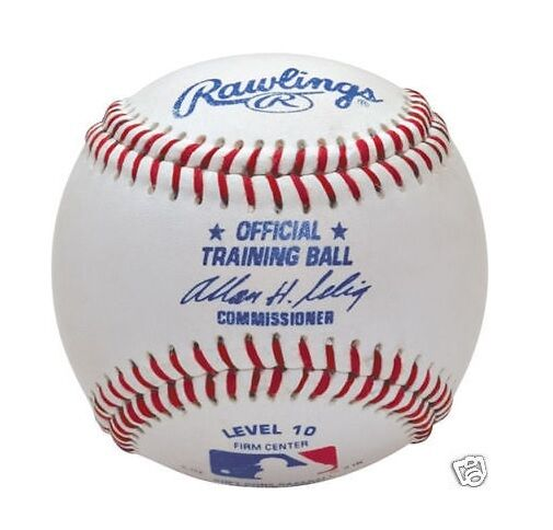 (1) DOZEN  (12) Rawlings Official MLB redB10 Level 10 Youth Baseballs  New