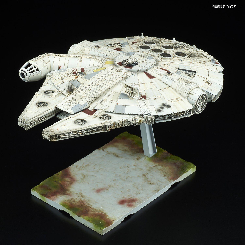 Bandai 1/144 Millennium Falcon Star Wars The last Jedi Plastic model