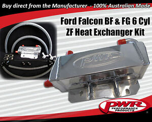 Details about PWR Ford Falcon BF FG 6 Speed ZF Auto Transmission Oil Cooler  Kit Heat Exchanger