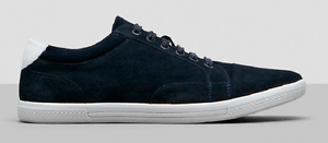 Kenneth Cole Men's Boogie Down Suede Sneaker, Navy, Size 11 Med