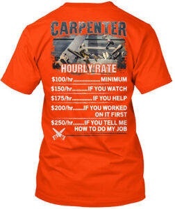 Fashionable-Awesome-Carpenter-Hourly-Rate-Hanes-Hanes-Tagless-Tee-T-Shirt