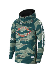 Details about Nike Air Jordan Mens ASG City of Flight Retro 1 Pull Over Hoodie GreenCamo New