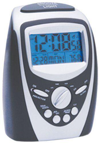 Precision Alarm Clock 7 Colour Changer LCD PREC0094 Projection Radio Controlled
