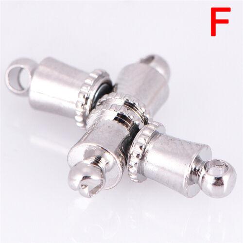 10pcs//set plata hebillas magnéticas ganchos pulsera collar joyas
