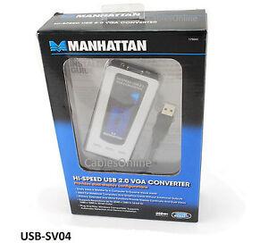 MANHATTAN USB SVGA CONVERTER WINDOWS 7 DRIVERS DOWNLOAD (2019)