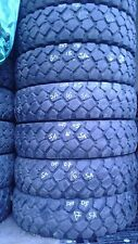 Set of six 9.00R16 Michelin XZL Mud tires, Off Road, Military / HIGHT TREADS /