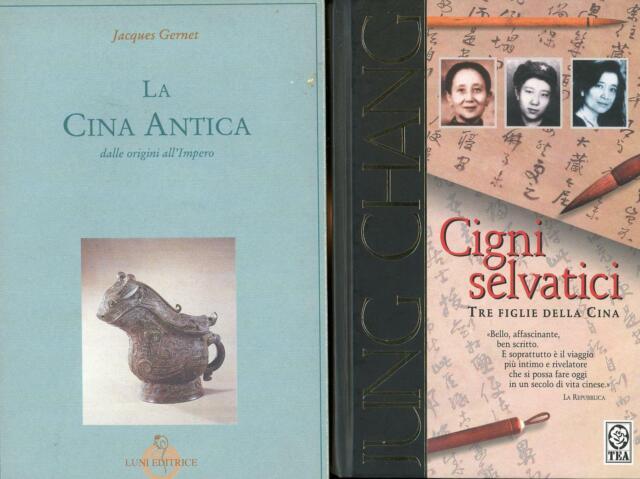 GERNET, J. La Cina antica. Dalle origini all'Impero + altro libro sulla Cina