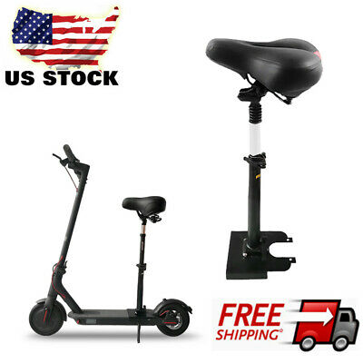 Xiaomi M365 Folding Scooter Seat Electric Skateboard Saddle Adjustable Height US