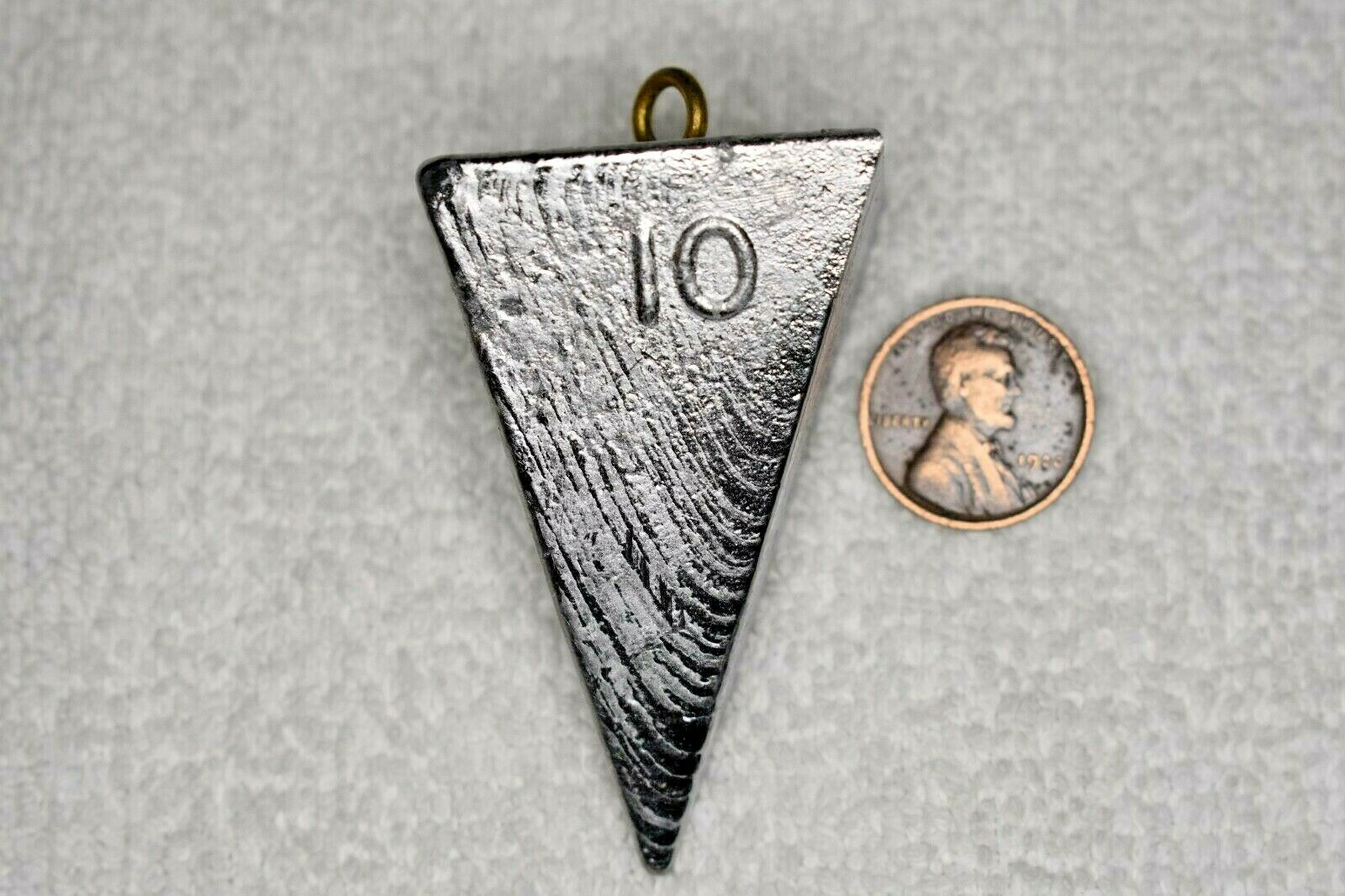 10 oz Pyramid Surf Fishing Blei Gewichte Sinkers - 50 Pfund - Free Shipping