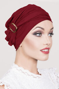 Image is loading Milan-Steel-Wine-Headwear-Bamboo-Turban-Bandanas-Women- ae23ab0ee1f