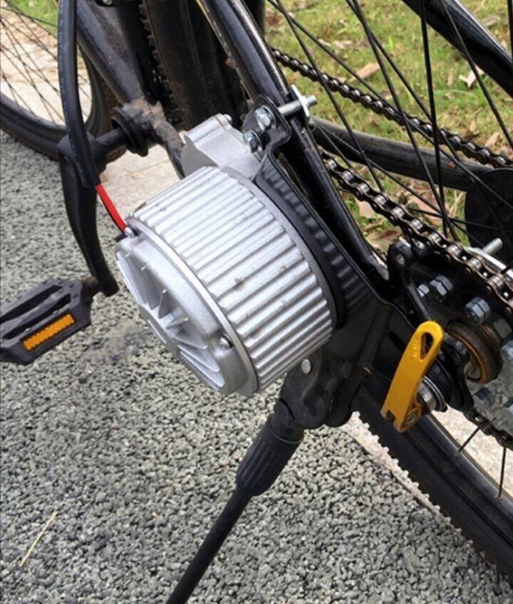 Elcykel-udstyr, El motor