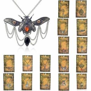 Jewelry-Necklace-Pendant-Statement-Machinery-Choker-Steampunk-Vintage-Chain-Gear