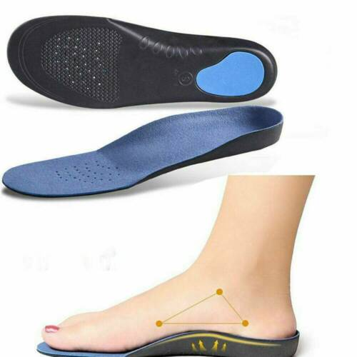 Hot Orthotic Flat Feet Foot High Arch Gel Heel Support Shoe Inserts Insoles Pads