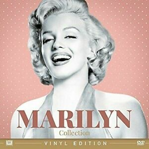 Marilyn-Collection-Vinyl-Edition-Cofanetto-4-Dvd-Nuovo-Sigillato