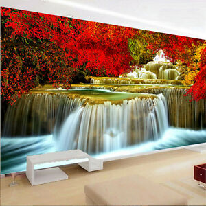 Waterfall Diy 5d Diamond Painting Cross Stitch Kit