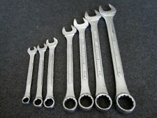 Vintage S K Tools 7pc Sae Combination Wrench Set Made In Usa