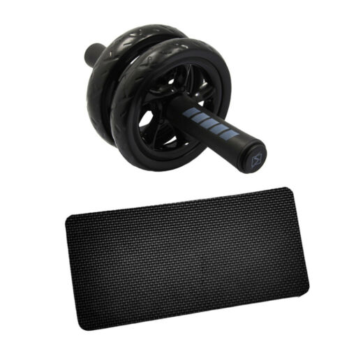 Ab Training Radrolle mit Knieschoner Fitness Workout Equipment Core Trainer