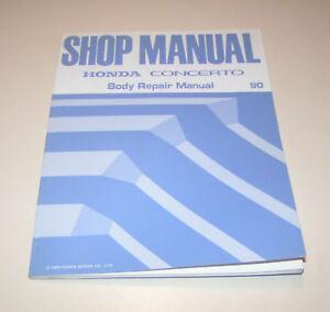Body-Repair-Manual-Honda-Concerto-1990