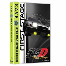Initial D . First Stage . The Complete Season 1 . Anime . 4 DVD . NEU