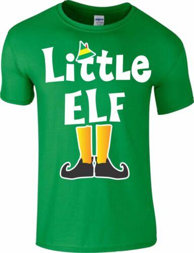 Family Elf Christmas T-Shirt Novelty Xmas Pyjama PJ/'s Idea Funny Kids Men Women