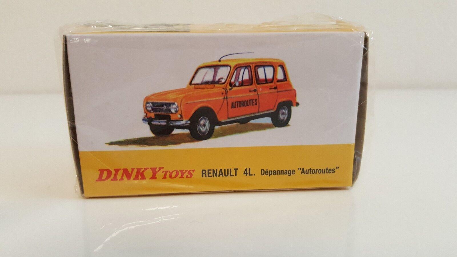 Dinky Toys Atlas   Renault 4L Dépannage Autgoldutes Neuve