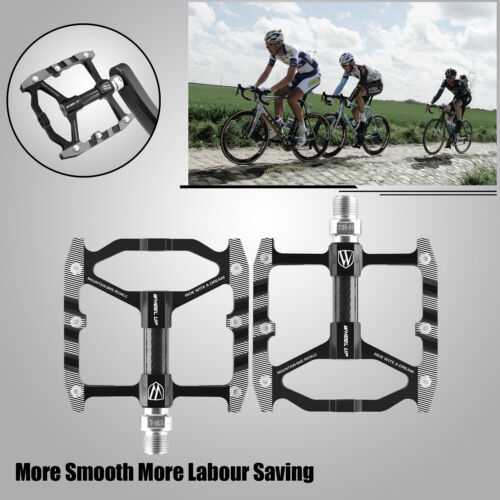 Bicycle Pedals Road Mountain Bike Pedals BMX MTB Carbon Fiber Sealed Bearings