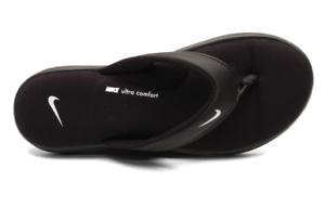 Brand New-NWT NIKE ULTRA COMFORT 3 THONG Flip Flop Sandal AR4498 003 Black