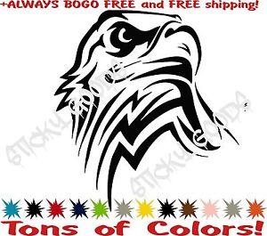 BOGO-FREE-USA-Tribal-American-Bald-Eagle-Vinyl-Car-Window-Decal-Sticker-Truck