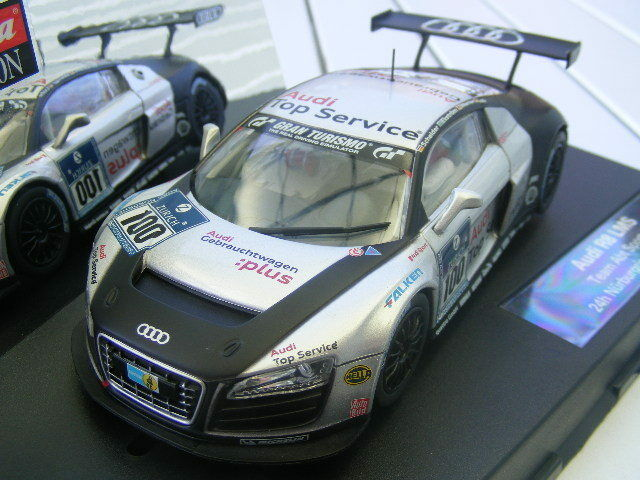 Carrera Evolution 27321 Audi R8 LMS Team ABT Sportsline Nürnburgring 2009 NIP