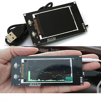 "2.4"" LCD level display music spectrum electronic MP3 Amplifier rhythm Analyzer"