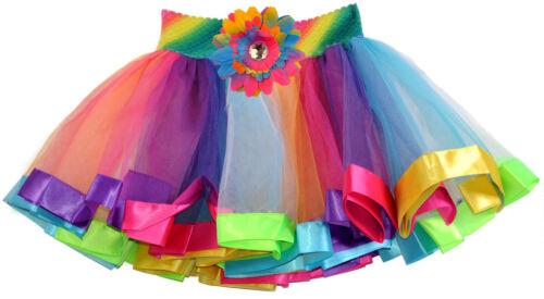3rd Birthday Girls Shirt Glitter Rainbow Tutu Outfit Gift Set Sock Hair Bow Name
