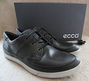Details about ECCO Collin Moonless Leather Lace Up Sneaker Shoes US 10 10.5 M EUR 44 NWB