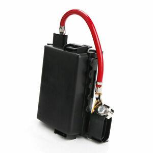 1J0 937 550A/ 1J0 937 550B Automative Battery Fuse Box  For Golf 4 MK4 Black