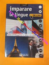 book libro IMPARARE LE LINGUE F. Desiderio 2000 ALPHA TEST  (L13)