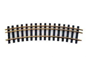 Zenner Bausatz 1 gebog. Dreischienengl<wbr/>eis, Spur 2(64mm)+ Spur G, 22,5°, R=1200mm