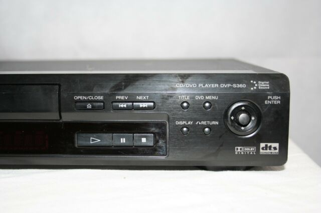 Sony DVP-S360  DVD CD VCD Player Home Theater Audio Video