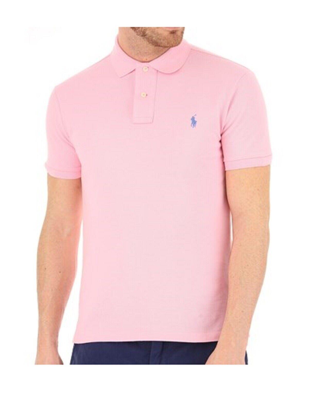 Polo Ralph Lauren uomo slim fit rosa ss19