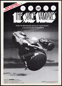 SPACE VAMPIRES_/_LIFEFORCE__Original 1979 early Trade AD / poster__KLAUS KNISKI