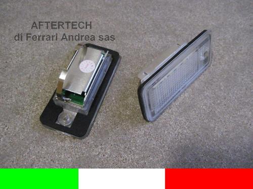 2 LUCI TARGA LED KIT COMPLETO AUDI A8 S8 D3 4E G1E9