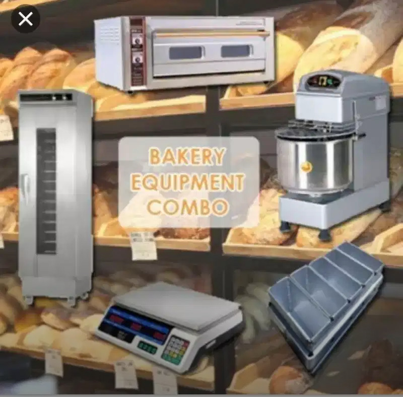 Brand new bakery equipment