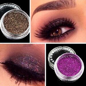 New Makeup Loose Powder Glitter Eyeshadow Eye Shadow Cosmetic ...