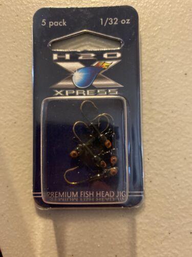 H20 express 1//32oz Fish Head Black