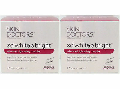 SKIN DOCTORS SD White & Bright 50mlx2-STOCK TAKE SALE &FREE Domestic Post 60%OFF