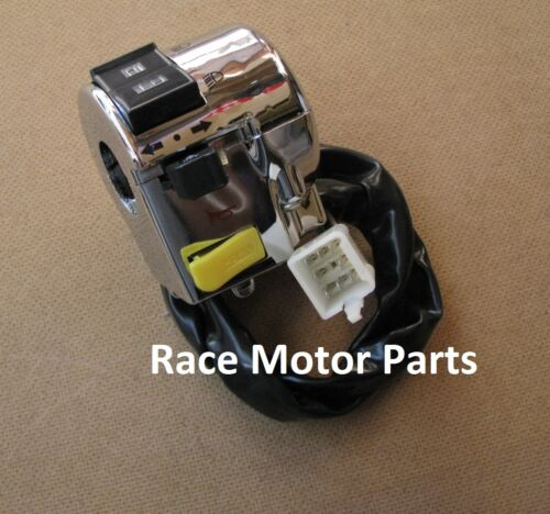 Lance Vintage Left Horn Turn Signal Switch 150cc Scooter GY6 Baron BMS Retro