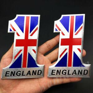 3D Metal The Union Jack UK Flag Emblem Badge Motorcycle Car Sticker Fairing