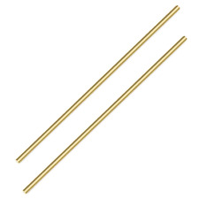 Sutemribor Brass Solid Round Rod Lathe Bar Stock 14 Inch In Diameter 14 Inches