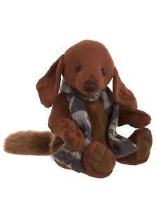 Systematic Charlie Bears Duffle Dog *** Special Price *** To Win A High Admiration And Is Widely Trusted At Home And Abroad. Dolls & Bears
