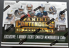 NFL Panini Contenders 2015 Football 8-Pack Box Sealed/OVP 1 Hit!!